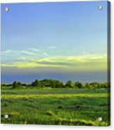 Everglades Panorama  Acrylic Print