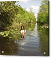 Everglades Beauty One Acrylic Print