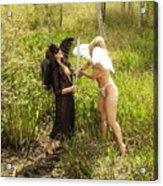 Everglades City Glamour 155 Acrylic Print