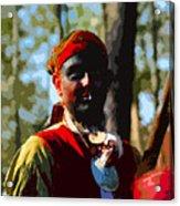 Everglades Seminole Portrait Number Three Acrylic Print