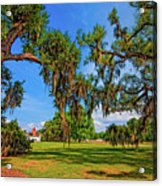 Evergreen Plantation Acrylic Print