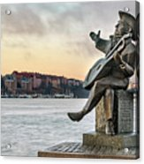 Evert Taube - Stockholm Acrylic Print
