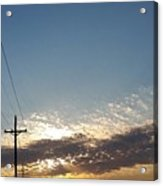 Every Day Is A Blessing  Acrylic Print
