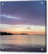 Every Morning Is Different - Toronto Skyline With An Awesome Cloudbank Acrylic Print