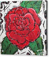Every Rose Has Its Thorns Acrylic Print