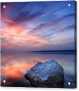 Every Stone Has A Place Acrylic Print