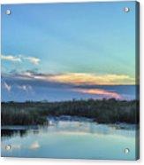 Everyglades Sunset Acrylic Print