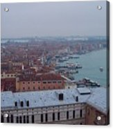 Everything Travels By Boat To Venice Acrylic Print