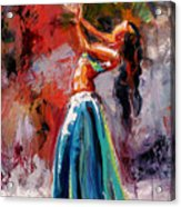 Eve's Dance Acrylic Print