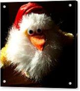 Evil Chicken Acrylic Print