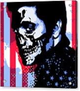 Evil Elvis Acrylic Print