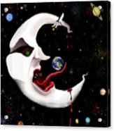 Evil Moon Acrylic Print