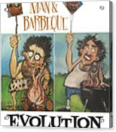 Evolution Poster Acrylic Print