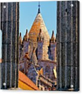 Evora's Cathedral Tower Acrylic Print