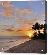 Ewa Beach Sunset 2 - Oahu Hawaii Acrylic Print