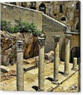 Excavations Acrylic Print