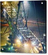 Excavator Coalmine Garzweiler  Acrylic Print