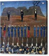 Execution Of Maximilian Acrylic Print