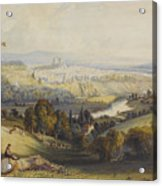 Exeter From Exwick, 1773 Acrylic Print