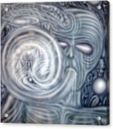 Exhale Acrylic Print