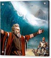 Exodus Moses And Pharaoh  Of Egypt Acrylic Print