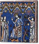 Exodus: Plague Of Hail Acrylic Print