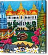 Exotic Bangkok Acrylic Print by Lisa  Lorenz