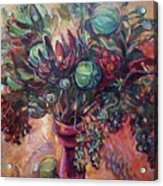 Exotic Bouquet Acrylic Print