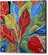 Exotic Foliage Acrylic Print