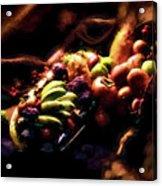 Exotic Fruit Platter Acrylic Print