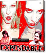 Expendable Poster Acrylic Print