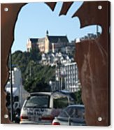 Experiencing Welly Through Art Acrylic Print