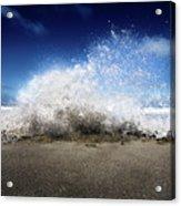 Exploding Seas Acrylic Print
