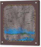 Explorer Gray Acrylic Print