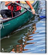 Exploring Along The Exeter Canal Acrylic Print