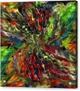 Explosion Acrylic Print