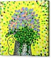 Explosive Flowers Acrylic Print