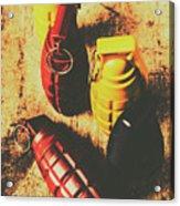 Explosive Ordnance Acrylic Print