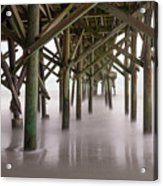 Exposed Structure Acrylic Print
