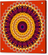 Expression No. 7 Mandala Acrylic Print