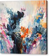 Expressive Abstraction L 1 Acrylic Print
