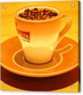 Expresso.piccolo.arancione Acrylic Print
