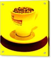 Expresso.piccolo.giallo Acrylic Print
