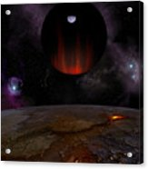 Extrasolar planet HD149026b Acrylic Print