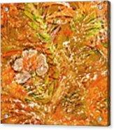 Extravaganza Orange Acrylic Print