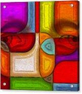 Eye Abstract Acrylic Print