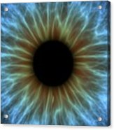 Eye, Iris Acrylic Print by Pasieka