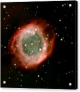 Eye Of God Helix Nebula Acrylic Print