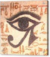 Eye Of Horus Acrylic Print