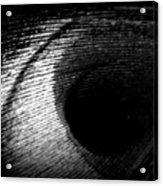 Eye Of The Peacock Feather Acrylic Print